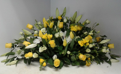 Funeral Spray of fresh flowers